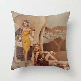 Uluguru Throw Pillow