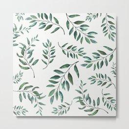 Leaves 3 Metal Print