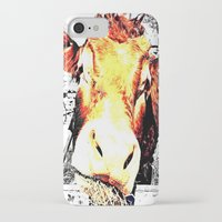 bull iPhone & iPod Cases featuring Bull by TexasDesignsByAmy