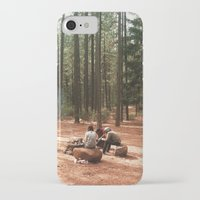 camp iPhone & iPod Cases featuring Camp by Casey Afton Hess