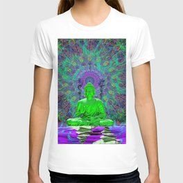 Cool Water Zen (meditation, psychedelic) T-shirt