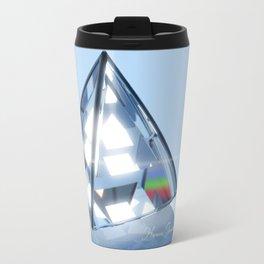 Sacred Geometry - Tetrahedron Travel Mug