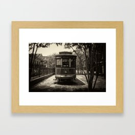 Streetcar Named Desire - New Orleans 1988 Framed Art Print