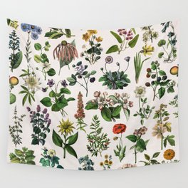 vintage botanical print Wall Tapestry