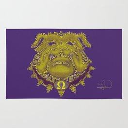 Omega Psi Phi Rug