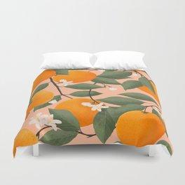 fresh citrus Duvet Cover
