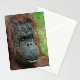 Female Orangutan Stationery Cards