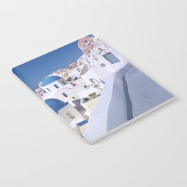 Oia Village in Santorini Notebook