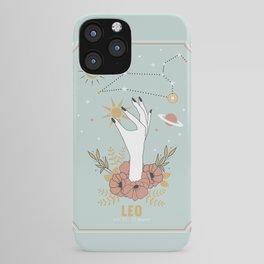 Leo Zodiac Series iPhone Case