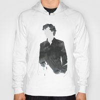 sherlock Hoodies featuring Sherlock by daniel