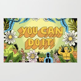 YOU CAN DO IT! Rug