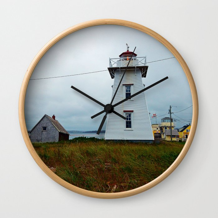 North-Rustico Lighthouse Wall Clock