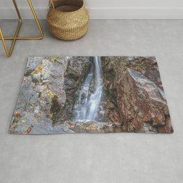 Silver cascade waterfall Rug