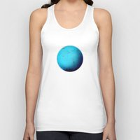 fifth element Tank Tops featuring Element: Water by David Bastidas