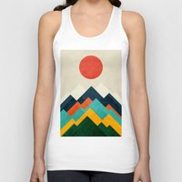 outdoor Tank Tops featuring The hills are alive by Picomodi