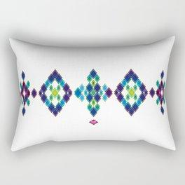 B-diamond #1 Rectangular Pillow