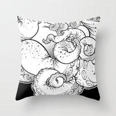 Cthulhu (B&W Version I) Throw Pillow