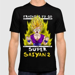 Training to go super saiyan - Gohan T-shirt