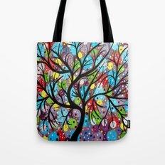 Abstract tree-8 Tote Bag