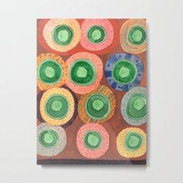 The Green Core Combines Metal Print