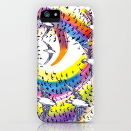 Spin and Spin iPhone Case