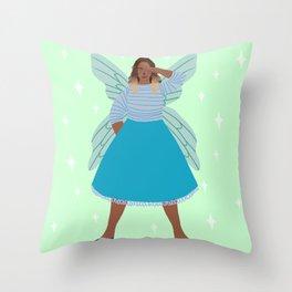 Fae Salute Throw Pillow