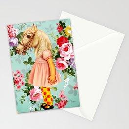 Pony Girl Stationery Cards