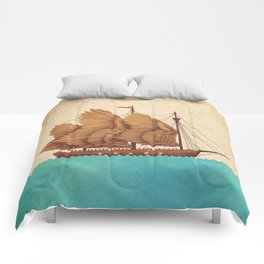 Winged Odyssey Comforters