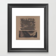 The Yellows Framed Art Print