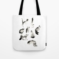 Cats Study Tote Bag