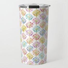 Heart Flower - colorful Travel Mug