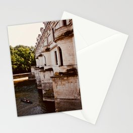 Boat ride - Loire Valley, France  Stationery Cards
