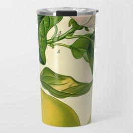 Botanical Print Travel Mug