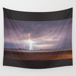 Lightning Strike, Black Rock Desert, NV Wall Tapestry
