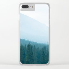 Hazy Days in BC Clear iPhone Case