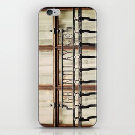 London Grille iPhone Skin