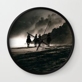 The Four Horsemen Wall Clock