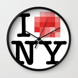 Censored Love Wall Clock