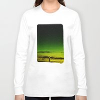 surfer Long Sleeve T-shirts featuring Lost Surfer Star Series by Stoian Hitrov - Sto