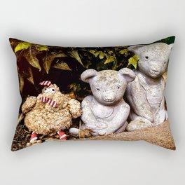 Three Bears Rectangular Pillow
