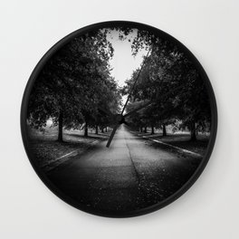 The Lone Walk Wall Clock