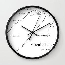 RennSport Shrine Series: la Sarthe Edition Wall Clock
