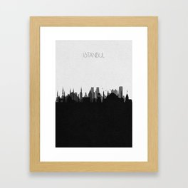 City Skylines: Istanbul Framed Art Print