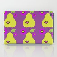 pear iPad Cases featuring pear by snorkdesign