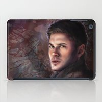 winchester iPad Cases featuring Dean Winchester by Jackie Sullivan