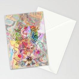 Ginkgo Spiralled Sunflower Stationery Cards