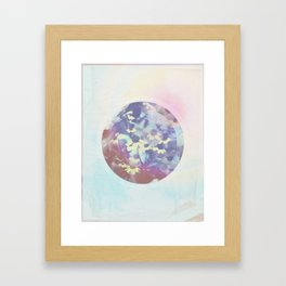 Pink Rock Framed Art Print