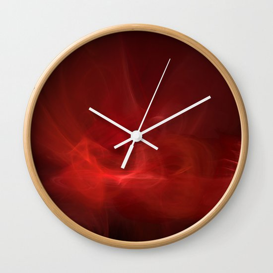 The Color of Passion Wall Clock
