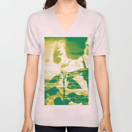 Sunflower Sky Unisex V-Neck