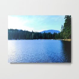 Bluest of blues Metal Print